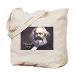 Karl Marx Religion Opiate Masses Tote Bag