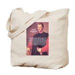 Political Theory: Machiavelli Tote Bag