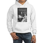 Leibniz Origins of Calculus Hooded Sweatshirt