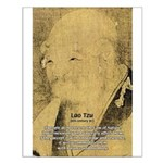 Law of Nature: Lao Tzu Small Poster