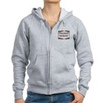 Enforce The Rules Women's Zip Hoodie