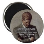 "Man / War John F. Kennedy 2.25"" Magnet (10 pack)"