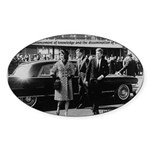 Education John F. Kennedy Oval Sticker