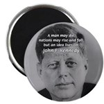 Power of the Idea JFK Magnet