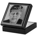 American Politics JFK Keepsake Box