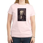 Universal Law: Kant Women's Pink T-Shirt