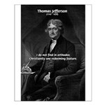 President Thomas Jefferson Small Poster