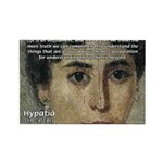 Wisdom of Greece: Hypatia Rectangle Magnet (100 pa