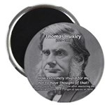 "Thomas Huxley and Darwin 2.25"" Magnet (100 pack)"