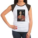 Christianity and David Hume Women's Cap Sleeve T-S