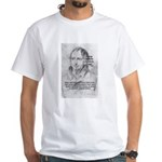 History Lessons Georg Hegel White T-Shirt