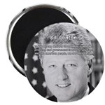 "Government Bill Clinton 2.25"" Magnet (10 pack)"