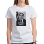 Politics George W. Bush Snr Women's T-Shirt