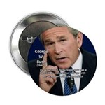 "Terrorism George W. Bush 2.25"" Button (100 pack)"