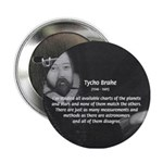 Astronomy Tycho Brahe Button
