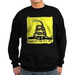 Don't Tread On Me Gadsden Sweatshirt (dark)