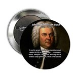 "Composer J.S. Bach 2.25"" Button (100 pack)"