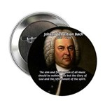 "Glory God Music J. S. Bach 2.25"" Button (10 pack)"