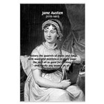 Women in History Jane Austen Large Poster