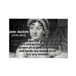 Women in History Jane Austen Rectangle Magnet (10