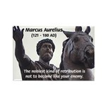 Emperor Marcus Aurelius Rectangle Magnet (100 pack