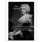 Courage Marie Antoinette Small Poster