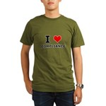 I (heart) Compliance Organic Men's T-Shirt (dark)