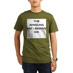 Amazing Fat Skinny Organic Men's T-Shirt (dark)