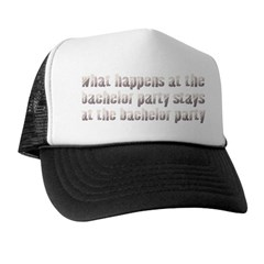 At the Bachelor Party Trucker Hat