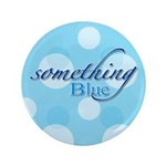 "Something Blue 3.5"" Button (100 pack)"