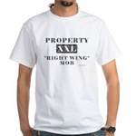 Right Wing Mob White T-Shirt