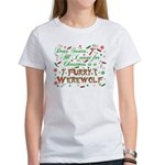 Dear Santa Furry Werewolf Women's T-Shirt
