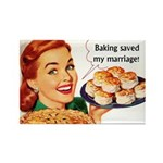 Baking Fridge Magnet