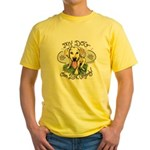 My Dog Can Lick Anybody Yellow T-Shirt