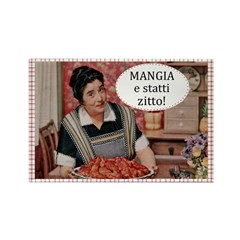 Mangia Fridge Magnet