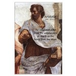 Aristotle Education Quote Large Poster