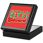 Christmas Edward Keepsake Box