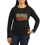 Christmas Emmett Women's Long Sleeve Dark T-Shirt