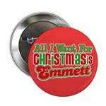 "Christmas Emmett 2.25"" Button (100 pack)"