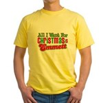 Christmas Emmett Yellow T-Shirt