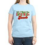 Christmas Jacob Women's Light T-Shirt