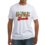 Christmas Jacob Fitted T-Shirt