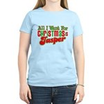 Christmas Jasper Women's Light T-Shirt