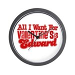 Edward Valentine Wall Clock