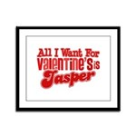 Jasper Valentine Framed Panel Print