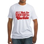 Carlisle Valentine Fitted T-Shirt