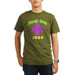 Mardi Gras Organic Men's T-Shirt (dark)
