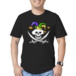 Mardi Gras Men's Fitted T-Shirt (dark)