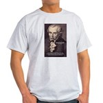 Kant Moral Law: Ash Grey T-Shirt