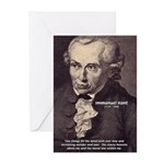 Kant Moral Law: Greeting Cards (Pk of 10)